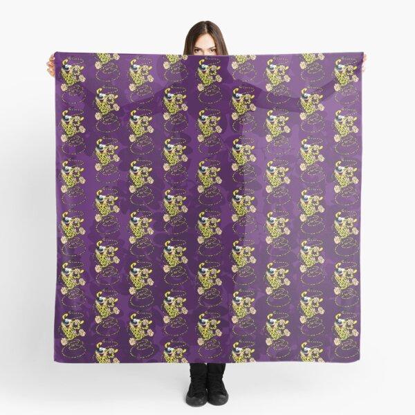 Marsupilami - Spring - Shades of Purple Scarf