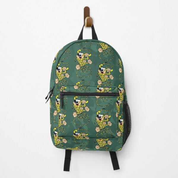 Marsupilami - Spring - Shades of green Backpack