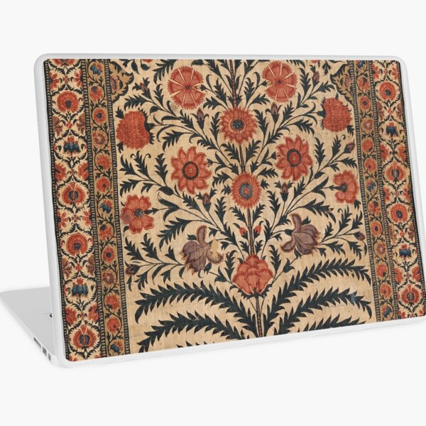 Vintage Panel from a Tent Lining, India 1725–50 Laptop Skin