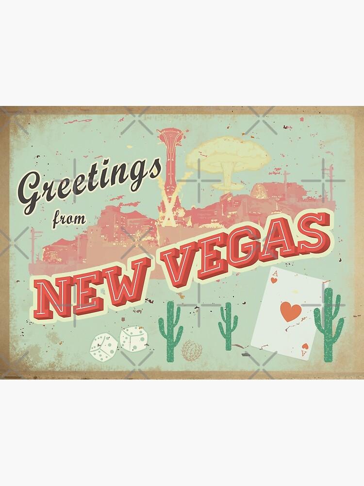 New Vegas Postcard by JamieStryker