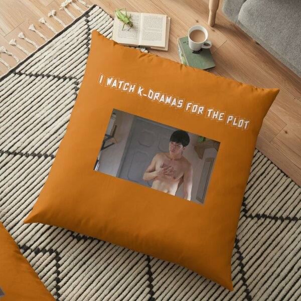 I Watch K-Dramas For The Plot Floor Pillow