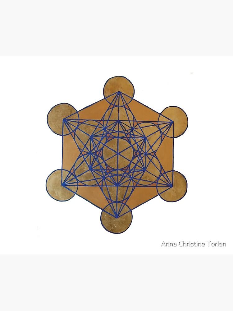 Metatron's Cube 3 ( XL )  by AnnaTorlen