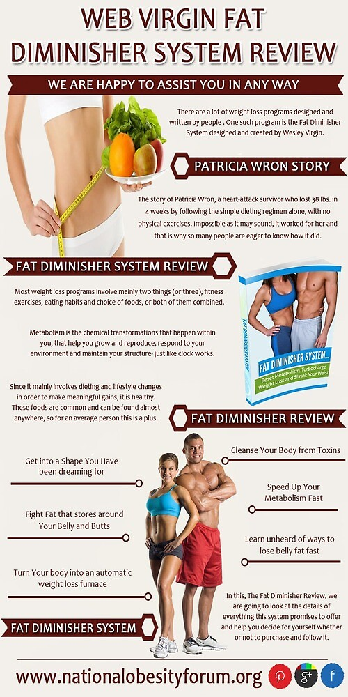 Web Virgin Fat Diminisher System Review by nationalobesity