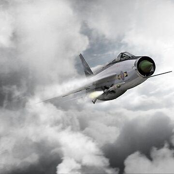 Lightning Strike by aviationart