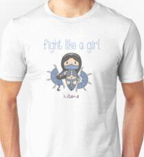 Fight Like a Girl - Princess Unisex T-Shirt