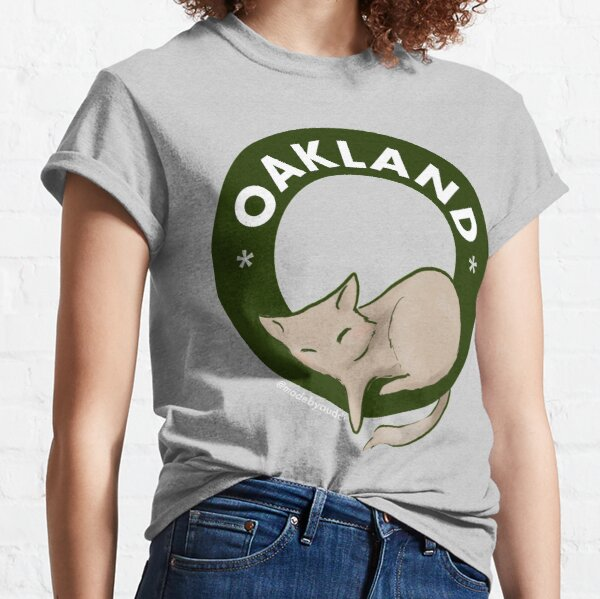 Cool cats live in Oakland Classic T-Shirt