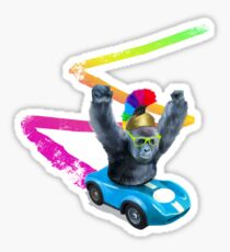 Go Ape! Sticker