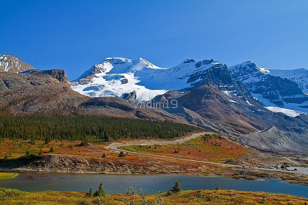 Canada. Columbia Icefield. by vadim19