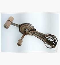 Antique Eggbeater Poster