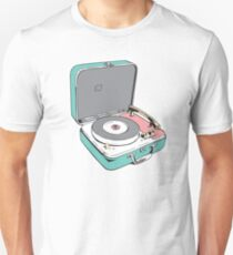 Retro Record Player Unisex T-Shirt