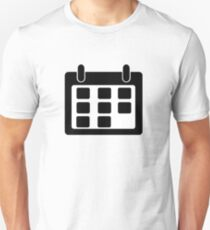 Calendar Symbol Unisex T-Shirt