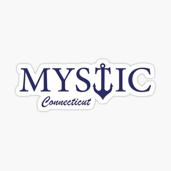 Mystic CT Sticker