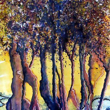 Trees by Happyart