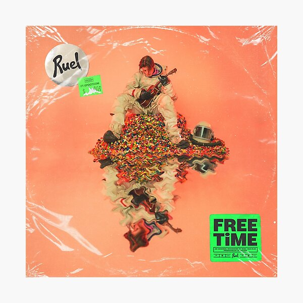 Ruel free time Photographic Print