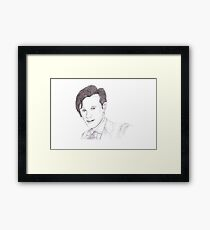 Matt Smith Framed Print