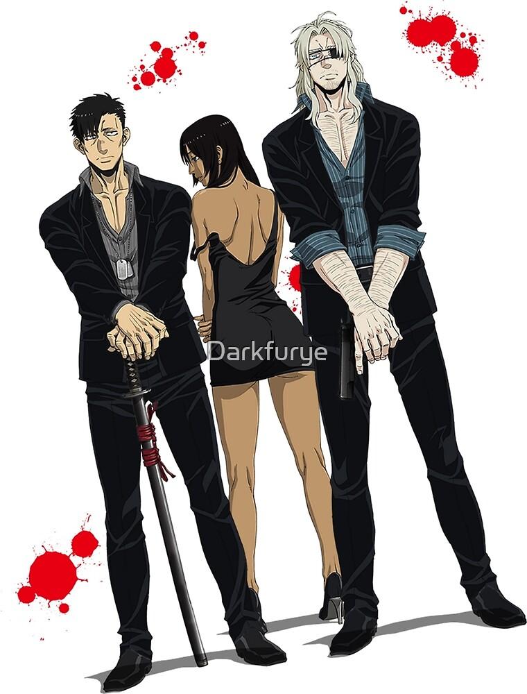Gangsta anime manga by Darkfurye