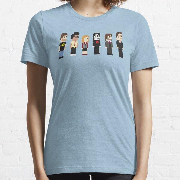 8-Bit IT Crowd Essential T-Shirt