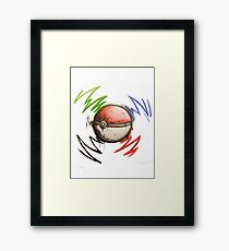 Pokeball! Framed Print