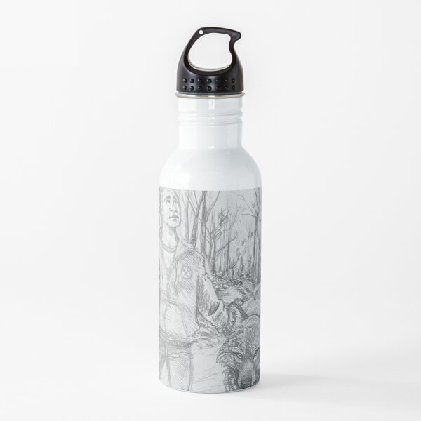 lost in the woods Water Bottle