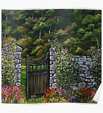 The Gate - Oil Painting Poster