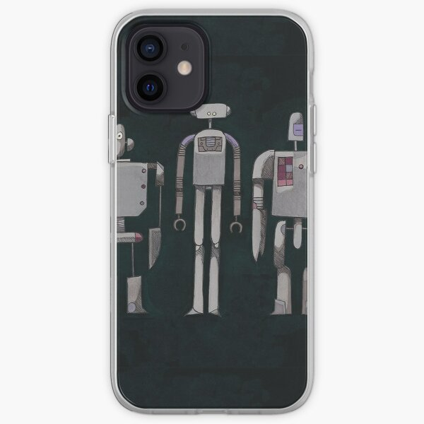 We are not Robots (The Three Amigos) iPhone Soft Case