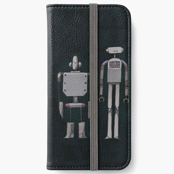 We are not Robots (The Three Amigos) iPhone Wallet