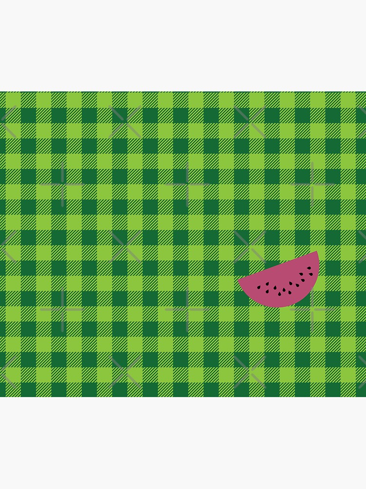 Plaids • Watermelon by brainthought