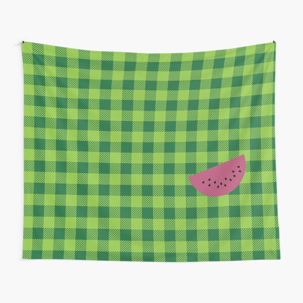 Plaids • Watermelon Tapestry