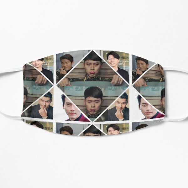Super Cutie Hyun Bin Collage  Mask