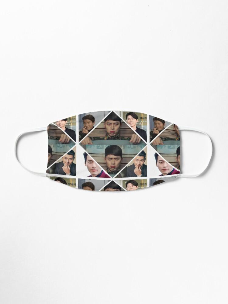 Alternate view of Super Cutie Hyun Bin Collage  Mask