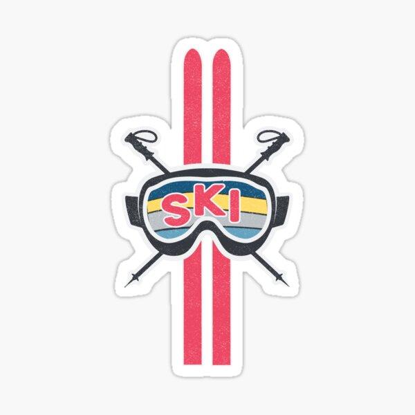 Ready to Ski Sticker