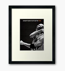 Michael Jordan Motivation Poster Framed Print