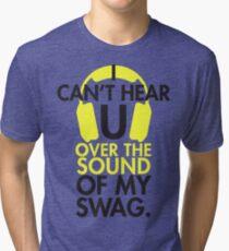 Headphone swag Tri-blend T-Shirt