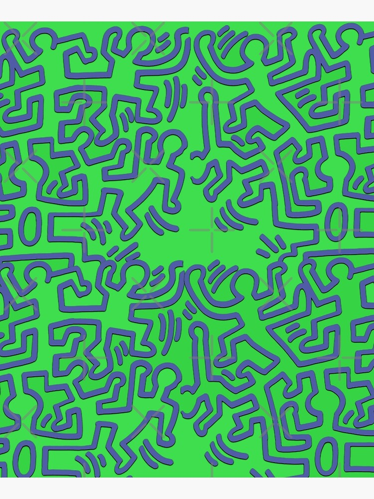 pattern Keith haring  by franktact