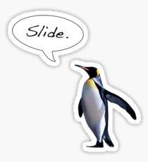 Slide. Sticker