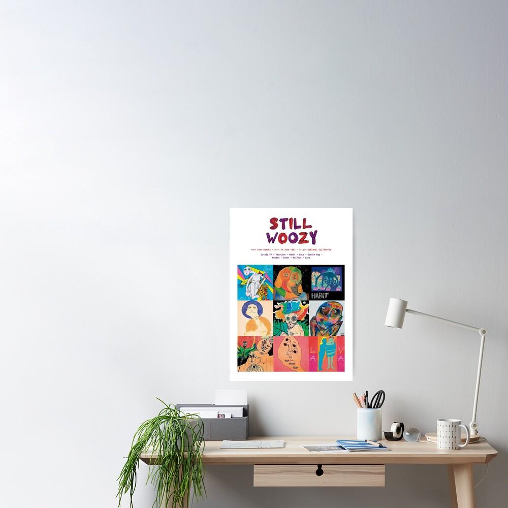 Carátulas de álbumes de música Still Woozy Póster