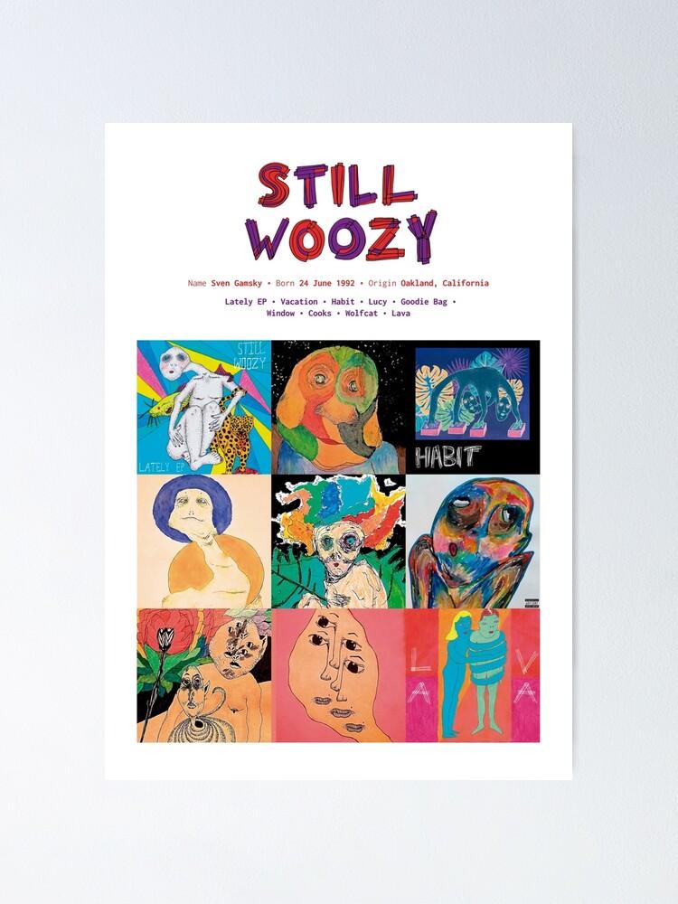 Vista alternativa de Póster Carátulas de álbumes de música Still Woozy