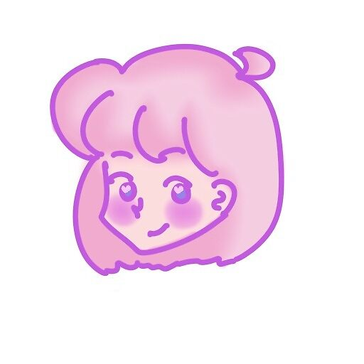 Pink Haired Chibi by Squeebii