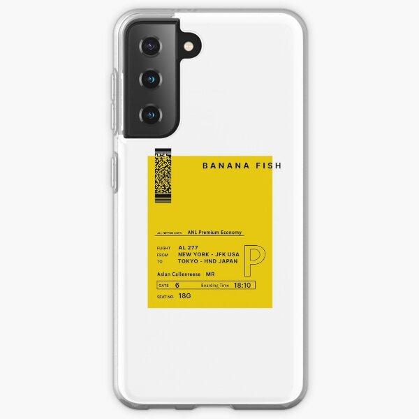Banana Fish Samsung Galaxy Soft Case