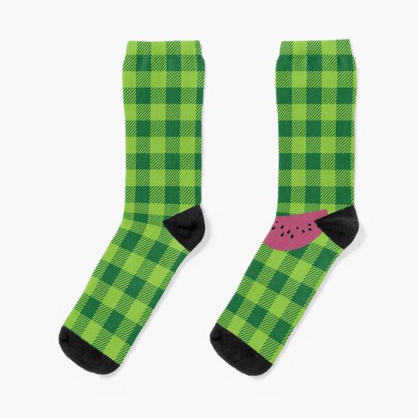 Plaids • Watermelon Socks