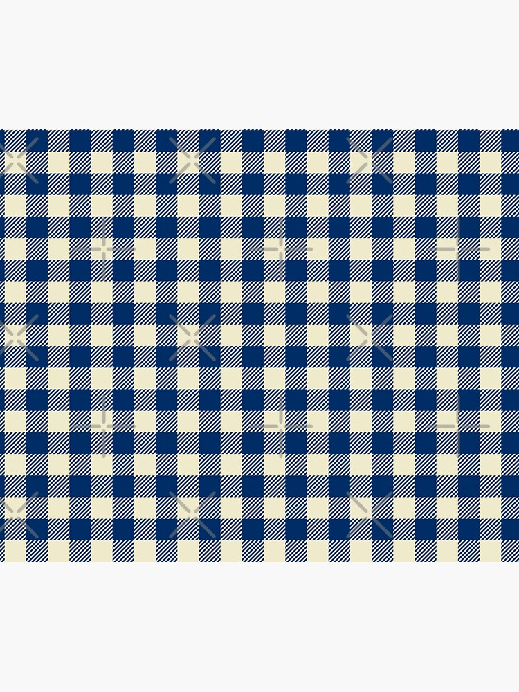 Plaids • Blue and White by brainthought