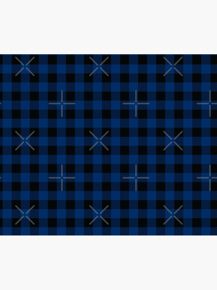 Plaids • Blue and Black by brainthought