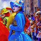 lady in blue by ezdrifter