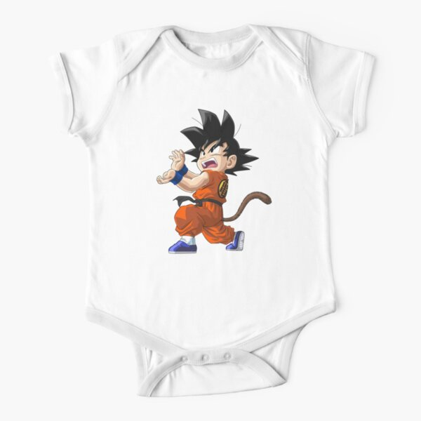 SON GOKU DRAGON BALL Z Body de manga corta para bebé