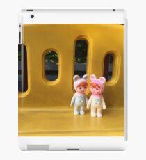 Woodland doll friends iPad Case/Skin