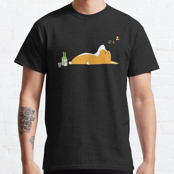 Corgi Nightlife Soju Classic T-Shirt