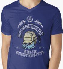 Helix Fossil University Men's V-Neck T-Shirt