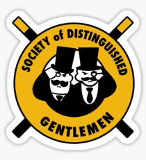The Society of Distinguished Gentlemen Sticker
