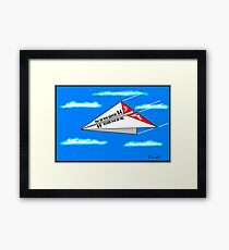 The All New Qantas A4 Framed Print