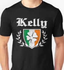 Kelly Family Shamrock Crest (vintage distressed) T-Shirt